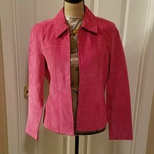 Gorgeous Suede Blazer from Coldwater Creek Size M